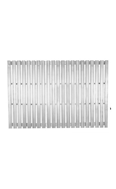 Cooking Grate Stainless Steel V-Channel Santa Maria, Argentine, Argentine w/rear Brasero Split Grate 48